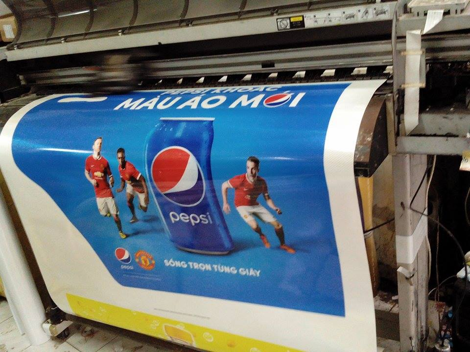 In Decal Phản Quang Pepsi